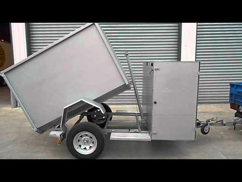 Tip trailer for sale (Trademe)