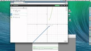 Limits using Graphs and Tables in Desmos Graphing Calculator