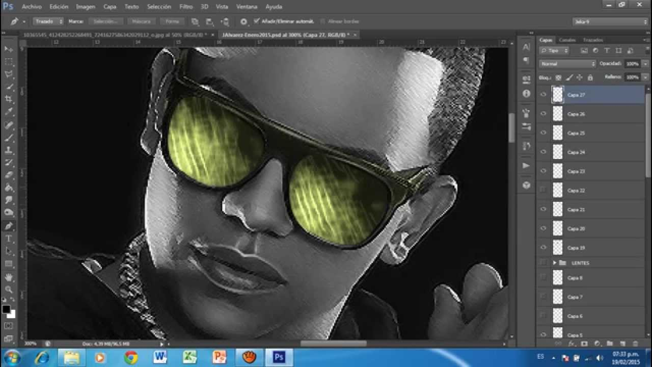 Creative Youtube Lentes Andrez Tutorial PhotoshopEfecto nPXOkZN80w