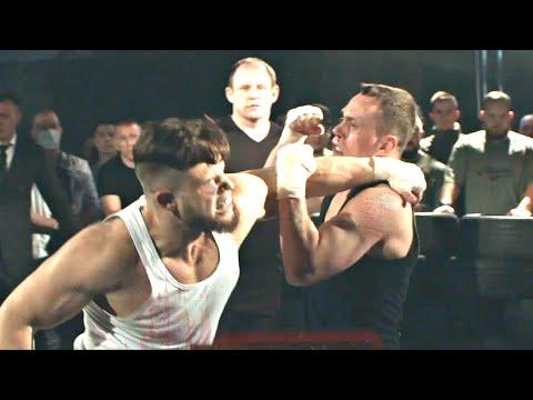 Бой Тарасов vs Макс Блевун. ПОЛНЫЙ БОЙ \\  Глухой нокаут в первом раунде. Жестко забил