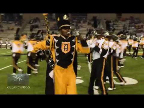 Alabama State University Marching Band - Halftime Show - 2016
