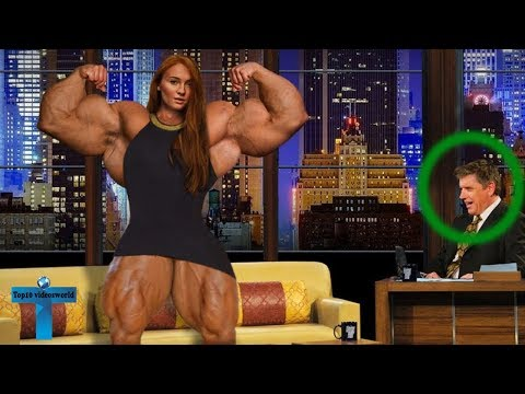 Top 10 Massive Female Bodybuilders Who Are Real Life Hulk - Real Gym Fitness