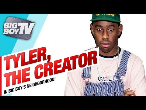 Tyler The Creator on Having A Son, Camp Flog Gnaw Carnival, And More! (Full Interview) | BigBoyTV