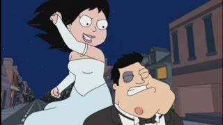 American Dad! Stan Fights Bride Hayley