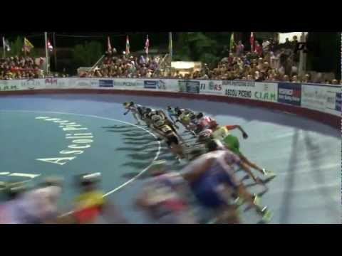Powerslide - 2012 Worlds VideoLog 8 - Men 10k elimination / points finals