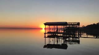 Sunrise over Choctawhatchee Bay