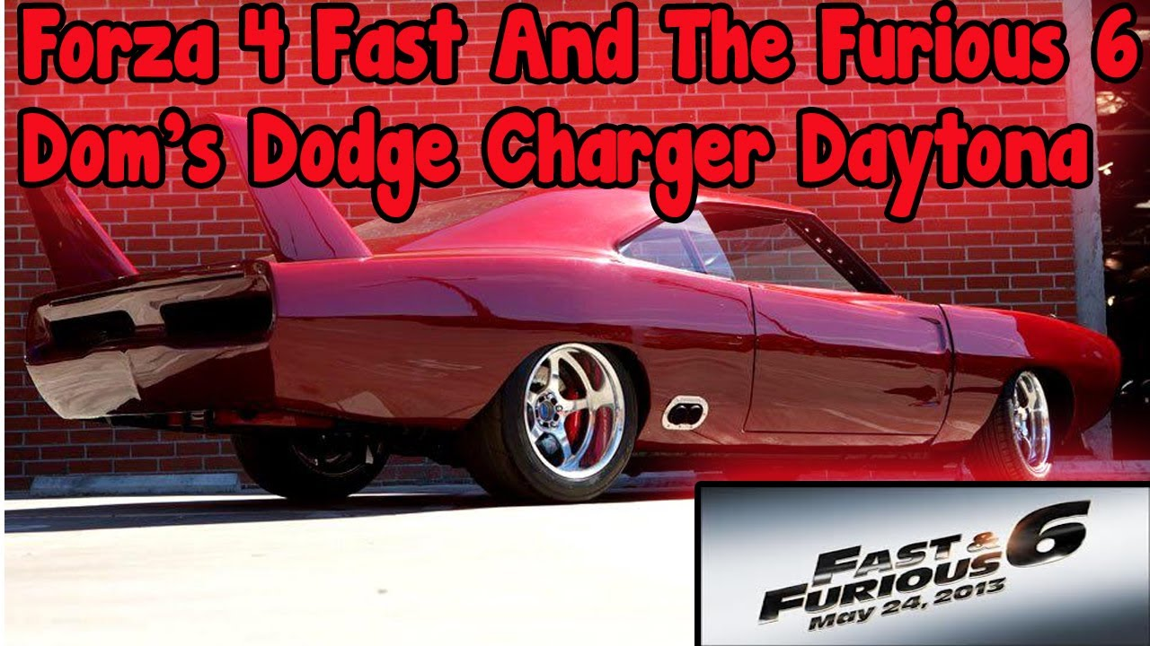 forza 4 fast and the furious 6 dodge charger daytona drift tune youtube - Dodge Charger 1969 Fast And Furious 6