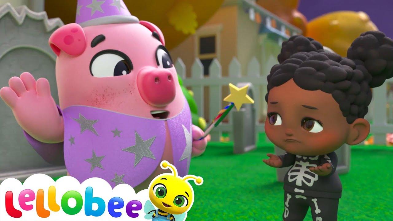 Happy Halloween! - Knock Knock Trick or Treat Song | Nursery Rhymes & Kids Songs | Little Baby Bum