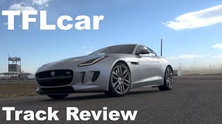 2015 Jaguar F Type R Coupe Test Track Review: Records Fall & Rubber Burns