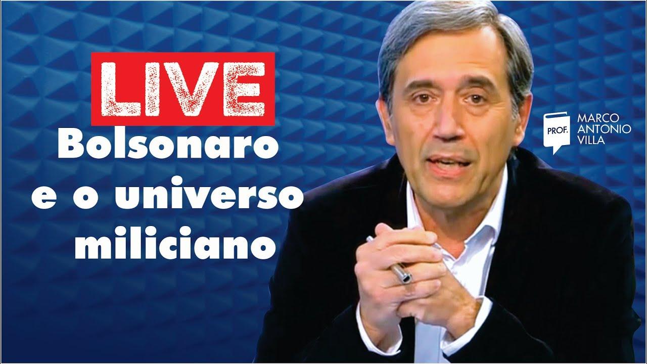 Live: Bolsonaro e o universo miliciano 13/08/20