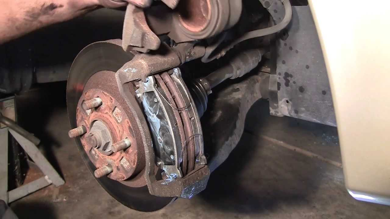 How To Change Front Brake Pads In 10 Minutes Mazda