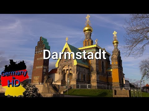 Darmstadt in 4k [Germanyinhd.de]