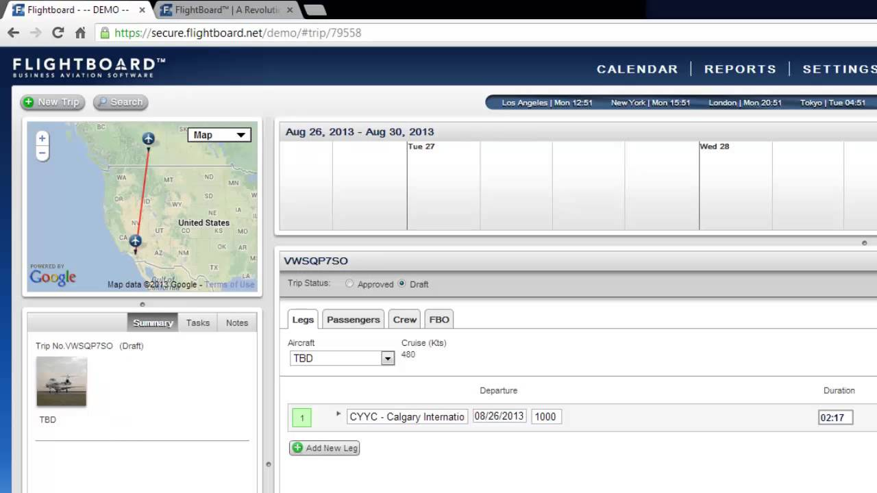 demo video for aviation department scheduling and flight coordination software youtube
