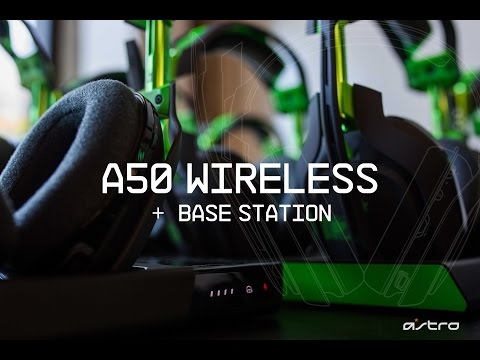 Go Behind the Scenes with the A50 Wireless Headset + Base Station | ASTRO Gaming