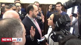 Երեւանի ավագանու ՀՀԿ տղամարդիկ կին են ծեծում նիստին - Мale members Yerevan council beat a woman