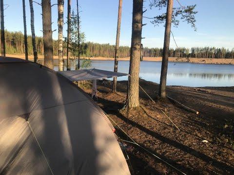 Наша первая поездка с палатками в 2020 г. Тестовый выезд.