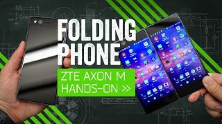 ZTE Axon M Hands-On: The Clamshell Is Back
