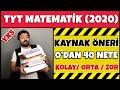 0'dan 40 Nete Matematik Kaynak Önerisi (Kolay/Orta/Zor) | 2020 YKS