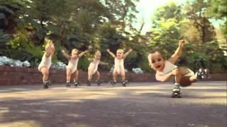 roller babies in slow motion