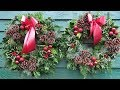 How To Make A Holly Door Ring