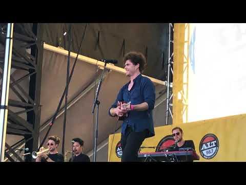 Vance joy -riptide LIVE @summer camp 98.7 Long Beach