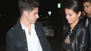 Selena gomez romantic date video with david henrie - making justin bieber jealous? caught on a b...