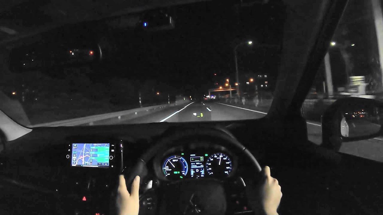 【試乗動画】2021 三菱 エクリプスクロス PHEV G 4WD 夜間試乗