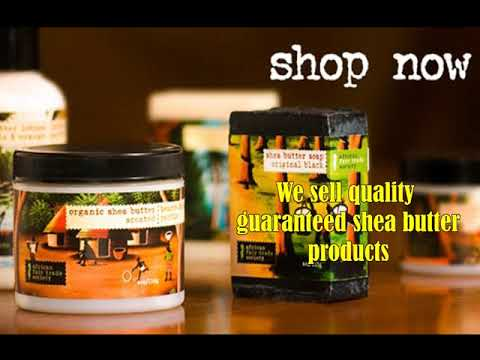 Buy African black soap from African Fair Trade Society