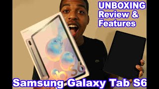 Samsung Galaxy Tab S6 - Features, Review, Unboxing