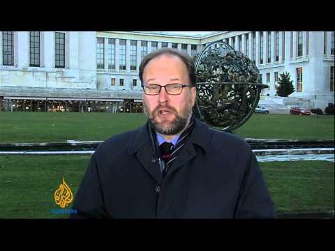 World leaders meet in Geneva to discuss Syria talks