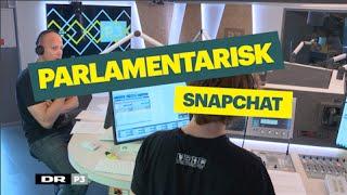"""Parlamentarisk Snapchat"" - en telefonisk genistreg! | Rodeo | P3"