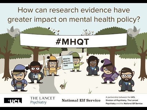 Launch of the new Mental Health Policy Research Unit for England #MHQT