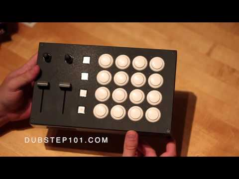 Midi Fighter Pro Unboxing by Dubstep 101