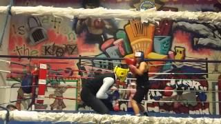 Thomas wu in east La boxing gym