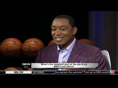 Isiah Thomas On NBA Draft 2019: What's The Toughest Part Of The Job In An NBA Front Office?