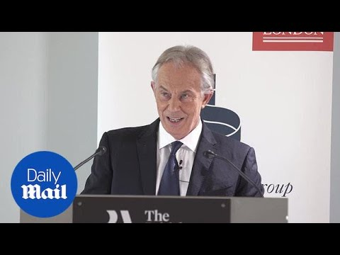 Tony Blair hits out at May and Corbyn on 'Brexit nightmare'