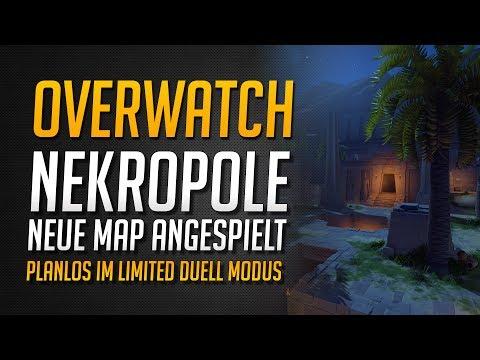 NEKROPOLE MAP ANGESPIELT | Comeback im neuen Limited Duell Modus?! ★ Overwatch Deutsch