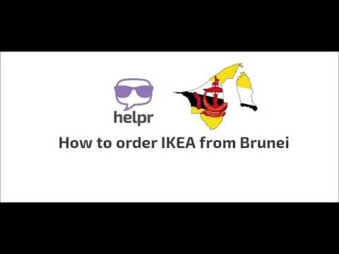 How to order IKEA from Brunei? Just follow these simple steps!