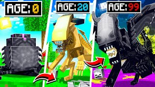 LIFE OF A MINECRAFT ALIEN!