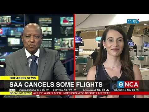 SAA cancel some flights