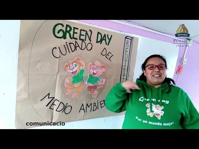 GREEN DAY 2020, Programa de Ecología y Sustentabilidad Colegio Pumahue Chicauma