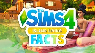 ISLAND LIVING FACTS!🌴🌊🐬 // WATERFALL WOOHOO, NEW DEATH + MORE - THE SIMS 4