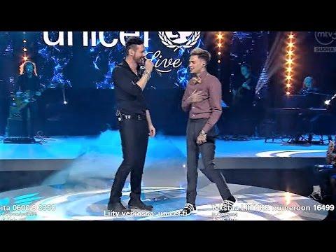 Lauri Tähkä & Mikael Gabriel - Kipua (TV Unicef gaala 2017) - YouTube