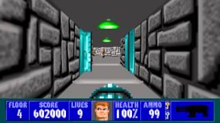 Wolfenstein 3D - Episode 6, Floor 4