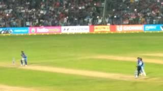 MCA stadium Pune North stand view