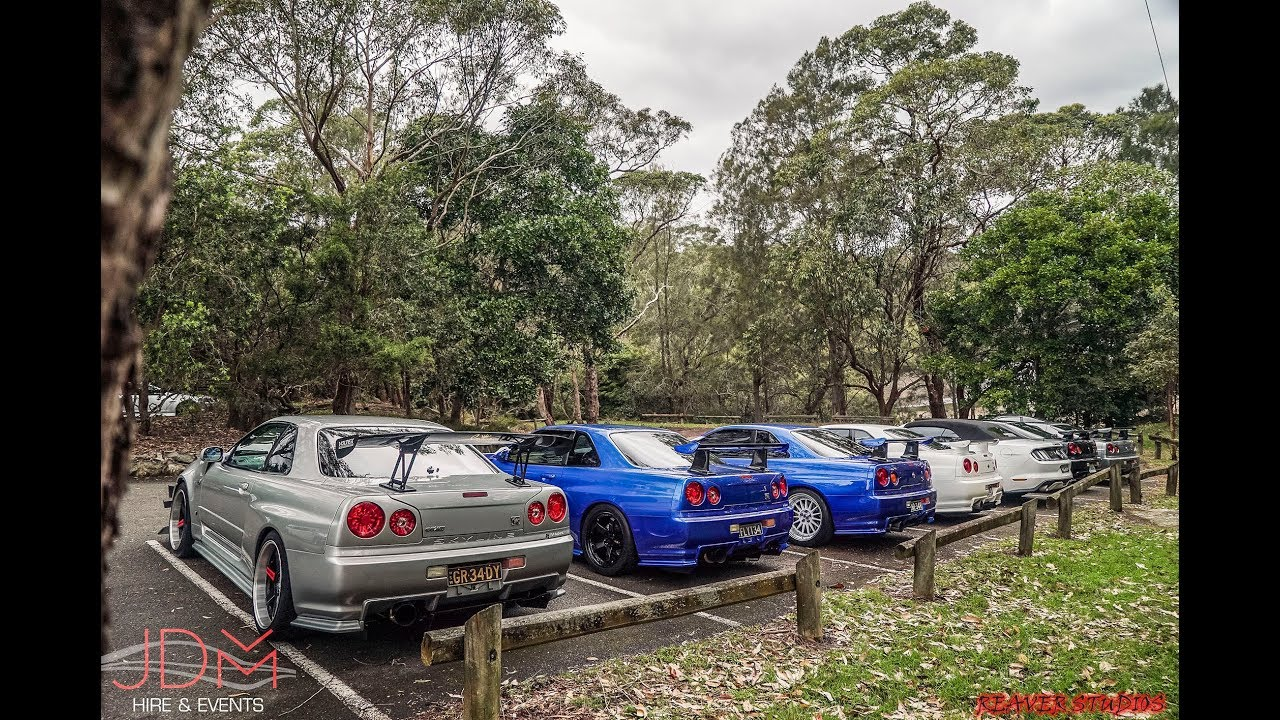 Nissan R34 Skyline GTR's on wedding duties by JDM Hire and Events