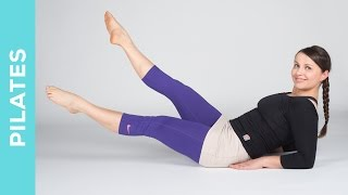 Power Pilates Workout für Bauch, Beine, Po - Mittelstufe bis Fortgeschritte - Fit mit Anna - HD