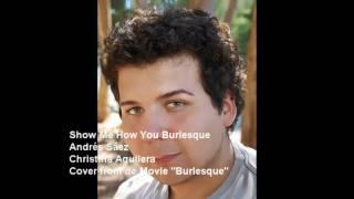 Show Me How You Burlesque - Andrés Sáez (Christina Aguilera Cover) + DOWNLOAD