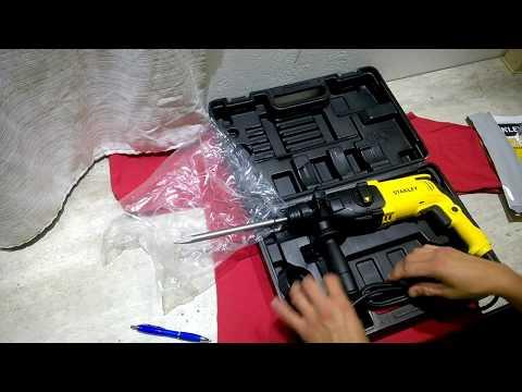 Desempaquetado (unboxing) martillo rotopercutor Stanley SHR 263 KA 800W