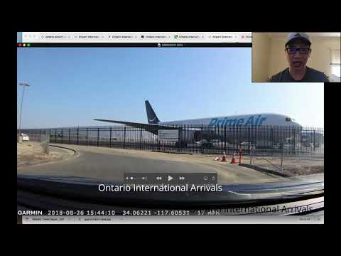 China Airlines Ontario International Airport Arrivals Location